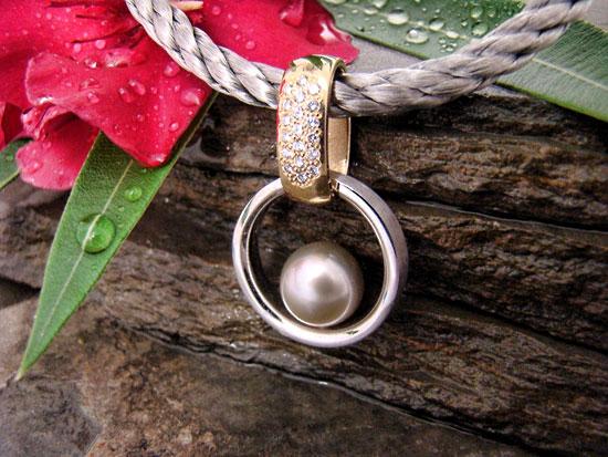Award Winner 2009 - Tahitian Pearl Pendant #117