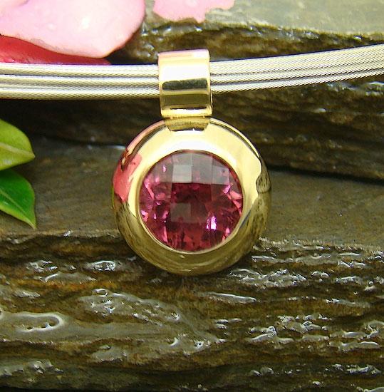 Pink Tourmaline  Pendant #148