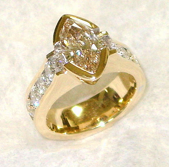 Marquise Diamond Ring #198