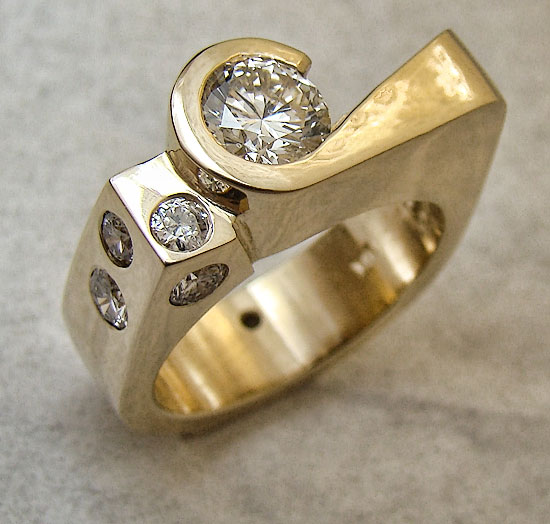 Custom Diamond Ring #215