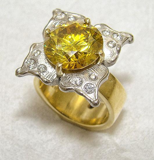 Golden in Bloom #242