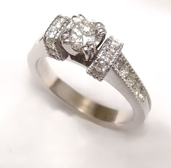 Diamond Engagement Ring #248