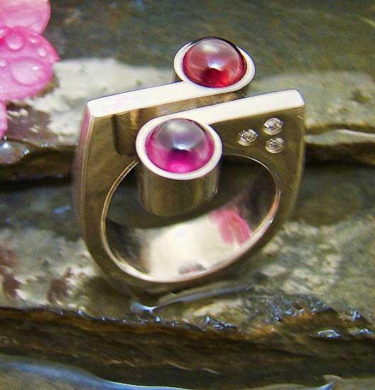 Grape Garnet Ring #207
