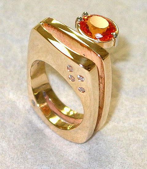 Mandrian Garnet Ring #225