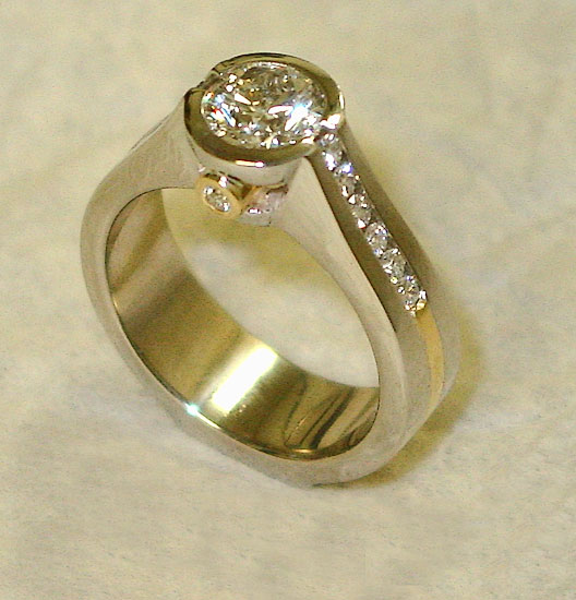 Round Brilliant Diamond Ring #190