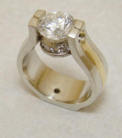 Diamond on Diamond Ring #194